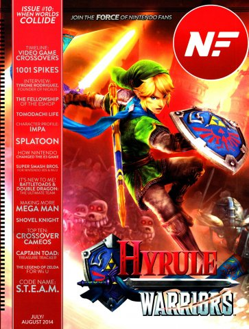 Nintendo Force Issue 010 July/August 2014