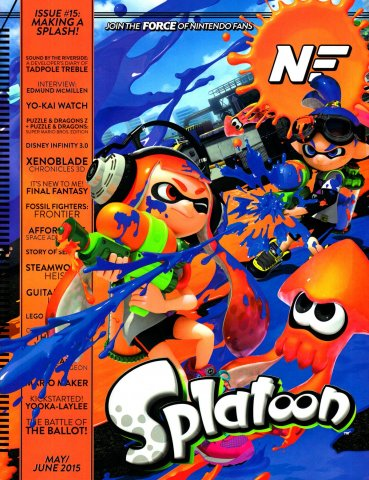 Nintendo Force Issue 15 May/June 2015