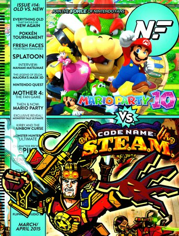 Nintendo Force Issue 014 March April 2015