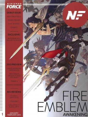 Nintendo Force Issue 001 January/February 2013