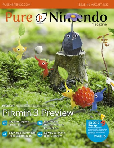 Pure Nintendo Magazine Issue 06 August 2012
