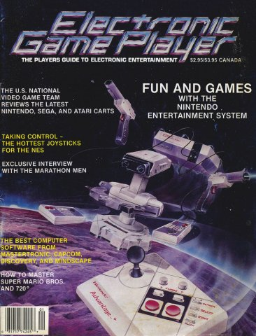 Electronic Game Player Issue 1 January/February 1988