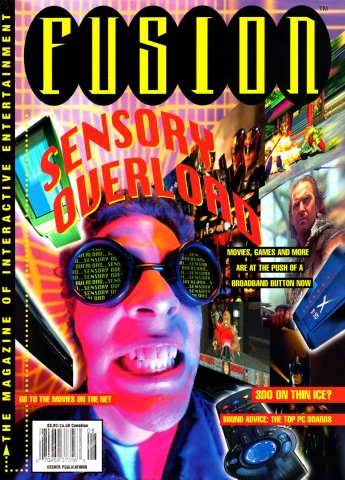 Fusion Issue 1 August 1995 (Volume 1 Issue 1)