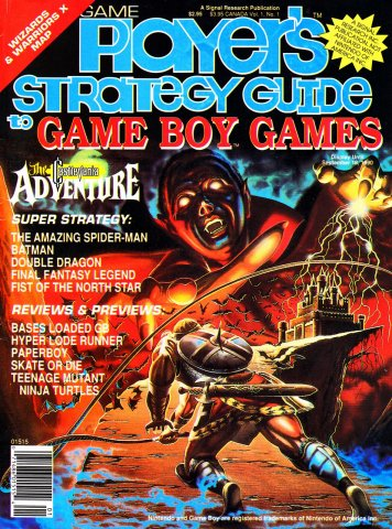 Game Player's Strategy Guide To Game Boy Games Issue 1 Summer 1990