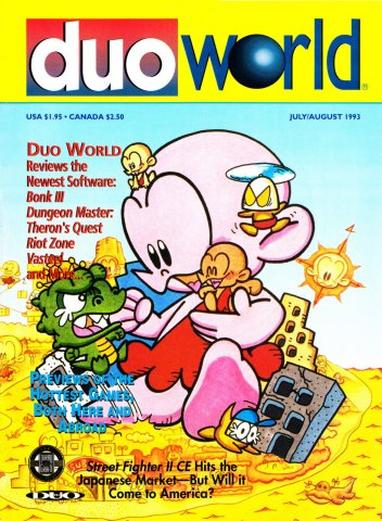 Duo World Issue 1 July August 1993