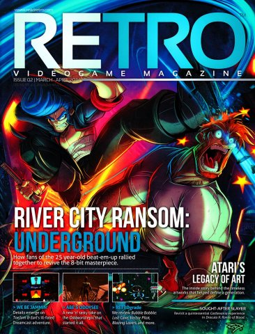 Retro Issue 002 March/April 2014