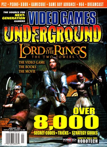 Video Games Underground Issue 5 January 2003