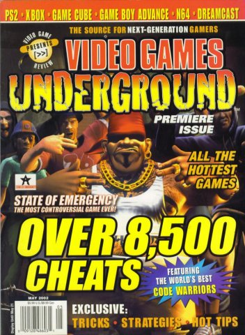 Video Games Underground Issue 1 May 2002