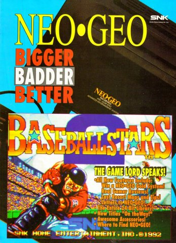 Electronic Gaming Monthly Issue 032 Neo Geo Supplement