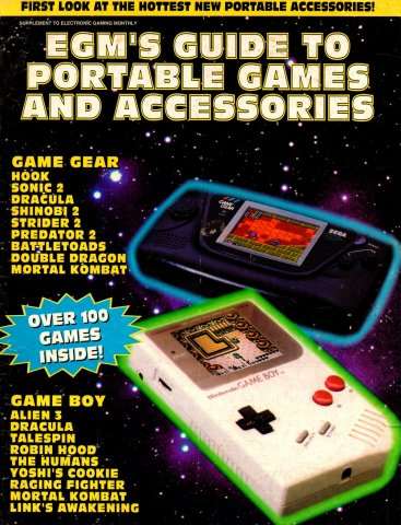 EGM's Guide To Portable Games And Accessories