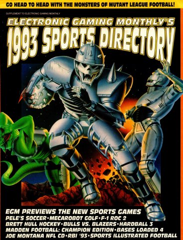 Electronic Gaming Monthly's 1993 Sports Directory