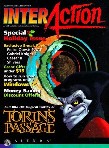 InterAction Issue 25 (Volume 8 Number 3) Holiday 1995