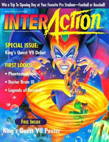 InterAction Issue 22 (Volume 7 Number 2)  Holiday 1994