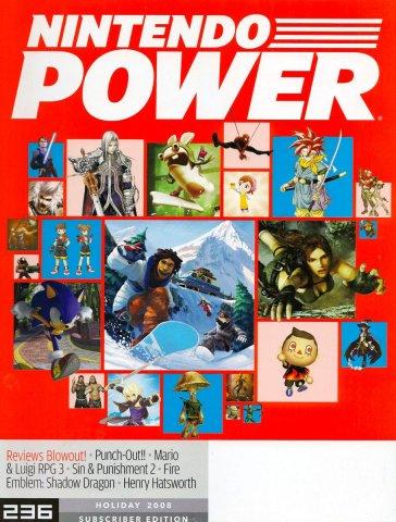 Nintendo Power Issue 236 Holiday 2008