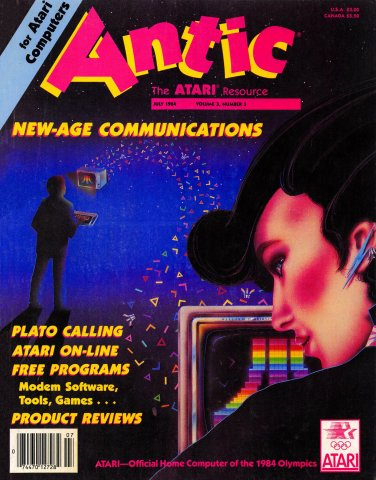 Antic Issue 021 July 1984