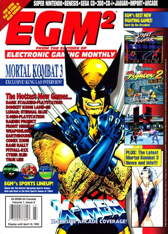 EGM2 Issue 09 (March 1995)