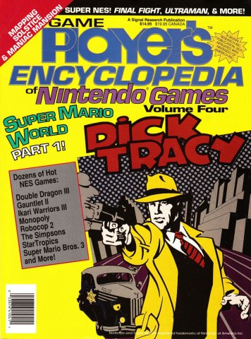 Game Player's Encyclopedia of Nintendo Games Volume Four