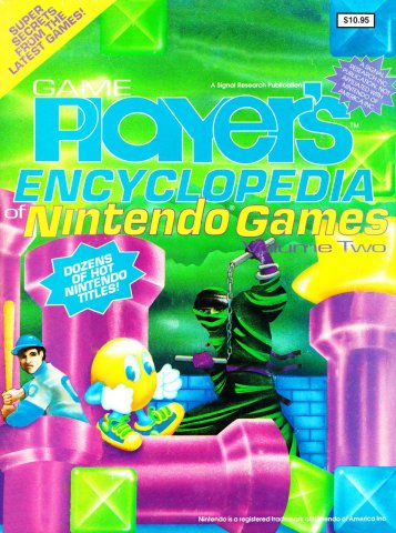 Game Player's Encyclopedia of Nintendo Games Volume Two