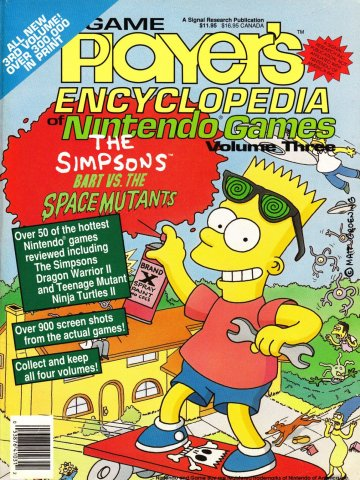Game Player's Encyclopedia of Nintendo Games Volume Three