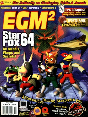 EGM2 Issue 37 (July 1997)