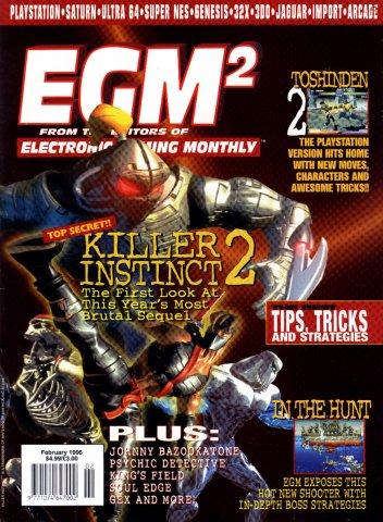 EGM2 Issue 20 (February 1996)