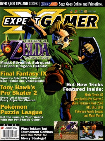 Expert Gamer Issue 78 (December 2000) (Cover 1)
