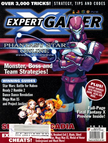 Expert Gamer Issue 81 (March 2001)