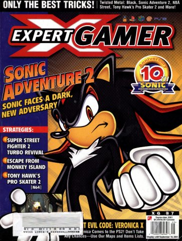 Expert Gamer Issue 87 (September 2001)