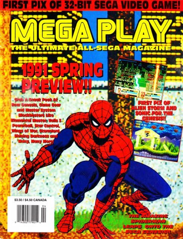 Mega Play Vol.2 No.2 March/April 1991