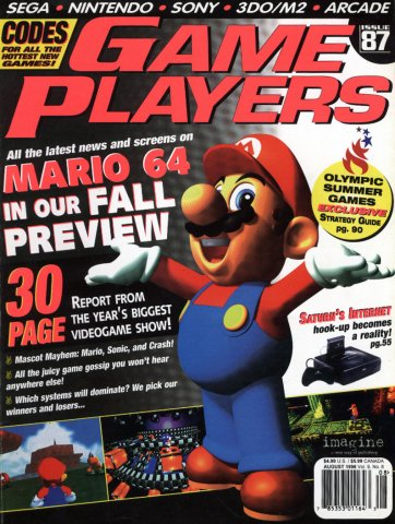 Game Players Issue 087 August 1996