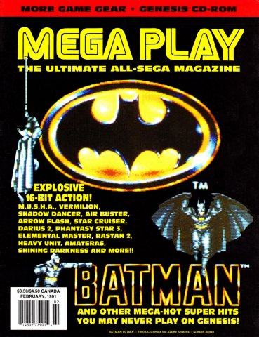 Mega Play Vol.2 No.1 February 1991