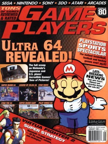 Game Players Issue 080 January 1996