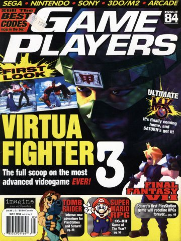 Game Players Issue 084 May 1996