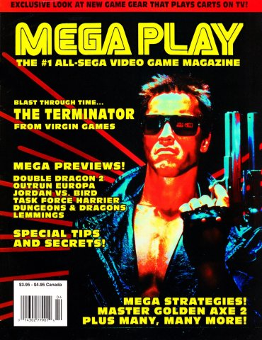 Mega Play Vol.3 No.2 March/April 1992