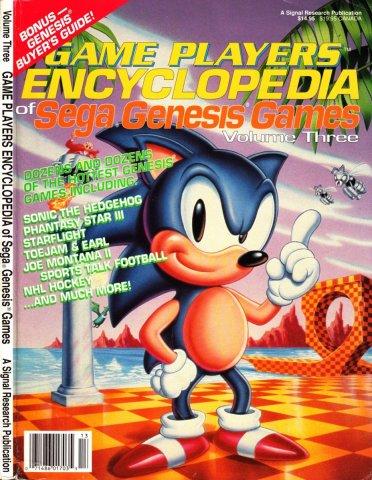 Game Players Encyclopedia of Sega Genesis Games Volume Three