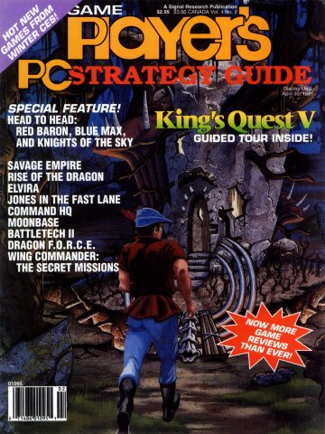 Game Player's PC Strategy Guide Vol.4 No.2 (March/April 1991)