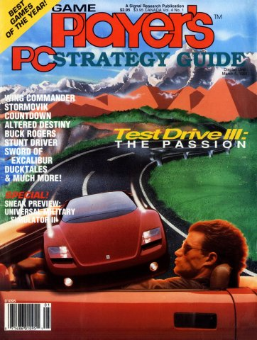 Game Player's PC Strategy Guide Vol.4 No.1 (January/February 1991)