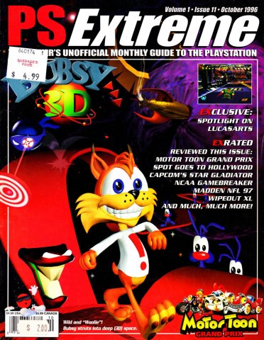 PS Extreme Issue 11 October 1996