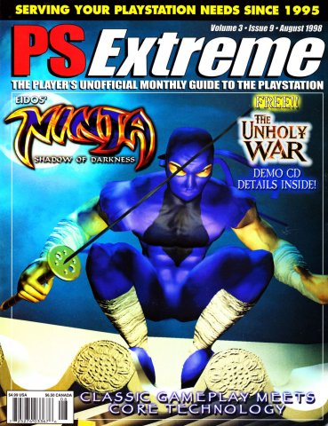 PSExtreme Issue 33 August 1998