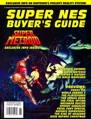 Super NES Buyer's Guide Issue 14 May 1994