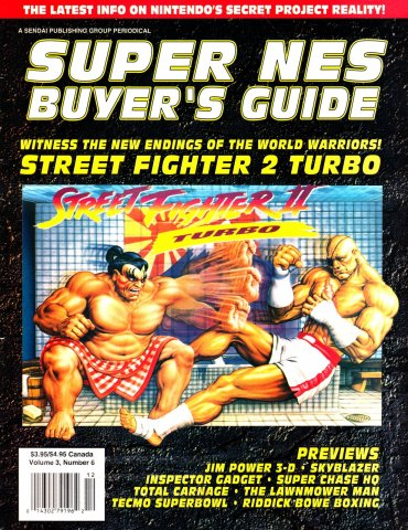Super NES Buyer's Guide Issue 11 November 1993