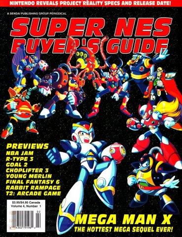 Super NES Buyer's Guide Issue 12 January 1994