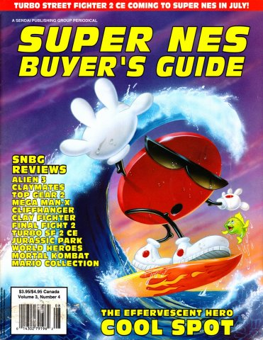 Super NES Buyer's Guide Issue 09 July 1993