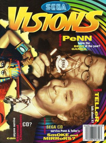 Sega Visions Issue 023 February-March 1995