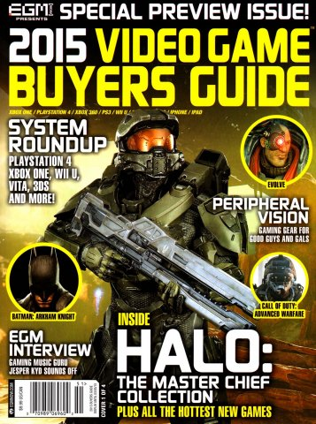2015 Video Game Buyers Guide (Cover 1 of 4)