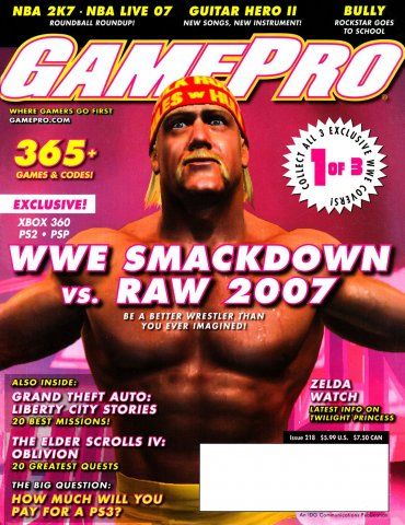 GamePro Issue 218 November 2006 (Cover 1 of 3)