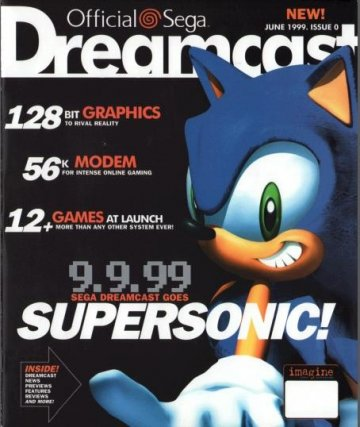 Official Sega Dreamcast Magazine Issue 000 (June 1999)
