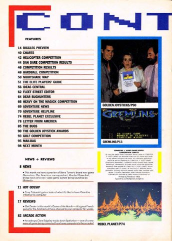 CVG Issue 055 Contents