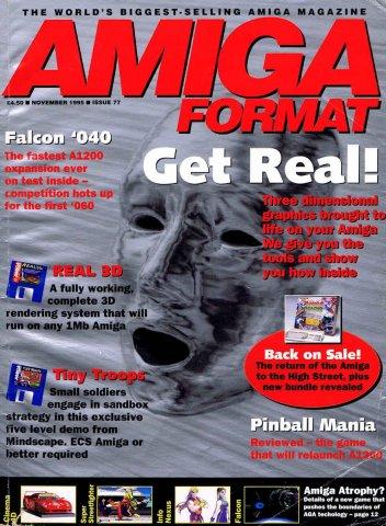 Amiga Format 77