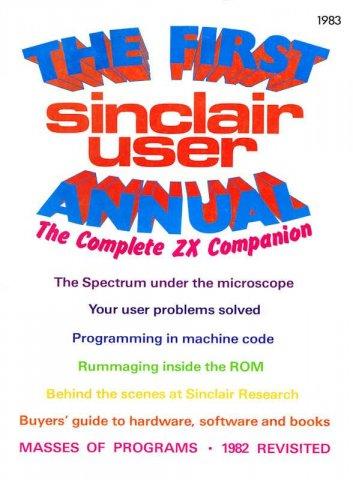 Sinclair User First Annual 1983